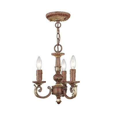 Scottdale Verona 3-Light Candle-Style Chandelier
