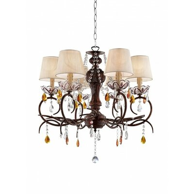 Mannino 6-Light Candle-Style Chandelier