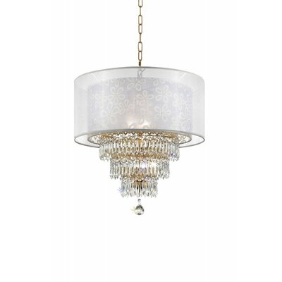 Lagrone 3-Light Drum Chandelier