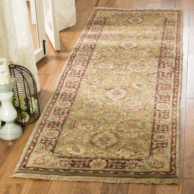 Belfield Laristan Brown Area Rug Rug Size: Runner 26 x 12
