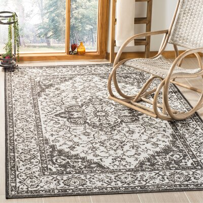 Allie Light Gray Area Rug Rug Size: Rectangle 9 x 12