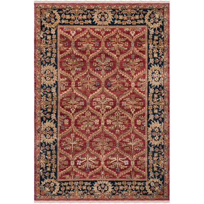Belfield Amritsan Red Rug Rug Size: Rectangle 5 x 76