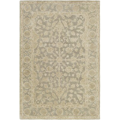 Fulham Hand-Tufted Dark Brown Area Rug Rug size: Rectangle 5 x 76