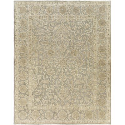 Fulham Hand-Tufted Dark Brown Area Rug Rug size: Rectangle 8 x 10