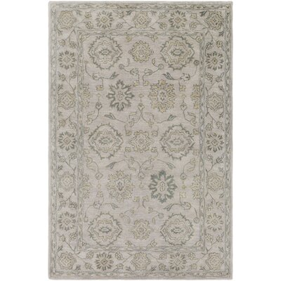 Fulham Hand-Tufted Tan Area Rug Rug size: Rectangle 6 x 9