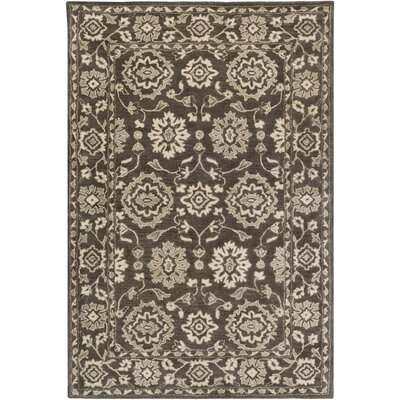 Fulham Hand-Tufted Cream Area Rug Rug size: Rectangle 4 x 6