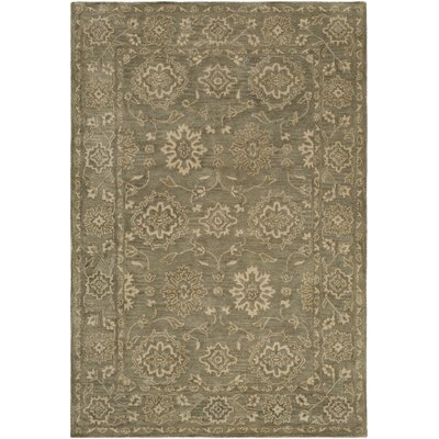 Fulham Hand-Tufted Camel Area Rug Rug size: Rectangle 4 x 6