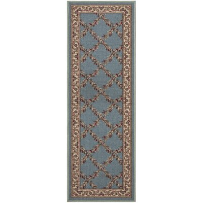 Ryan Green Indoor/Outdoor Area Rug Rug Size: Runner 110 x 7