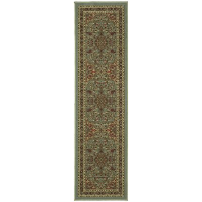 Ryan Sage Green Area Rug Rug Size: Runner 110 x 7