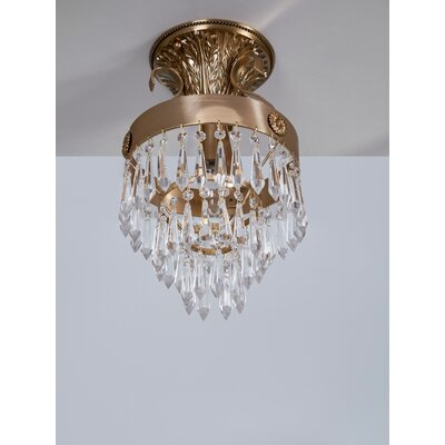 Manis 1-Light Semi Flush Mount