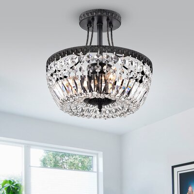 Aspinwall 3-Light Semi Flush Mount