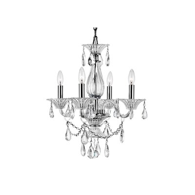 Zac 4-Light Mini Chandelier