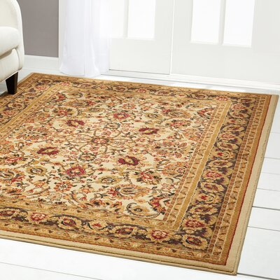 Caterina Beige Area Rug Rug Size: Rectangle 52 x 72