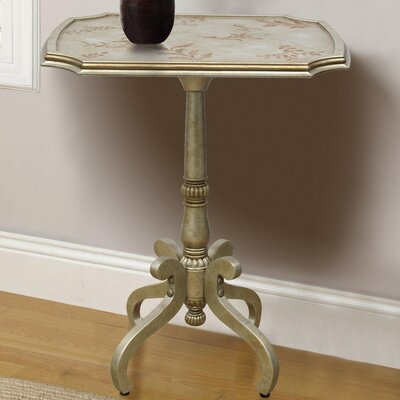 Roye Hand Painted Wooden End Table
