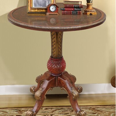 Rowsey Italian Hand Painted End Table