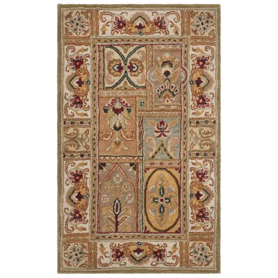 Carnasheeran Sage Area Rug Rug Size: Rectangle 3' x 5'
