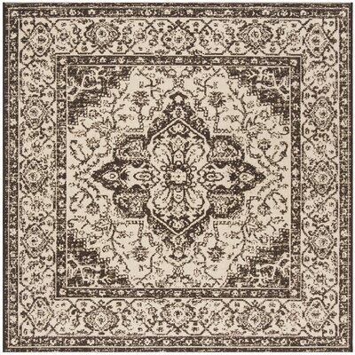 Allie Brown Area Rug Rug Size: Square 67