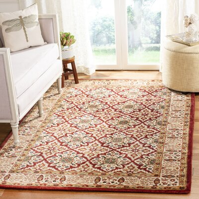 Empress Beige Rug Rug Size: Rectangle 5 x 8