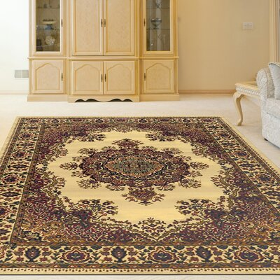 Northington Ivory Area Rug Rug Size: Rectangle 79 x 11