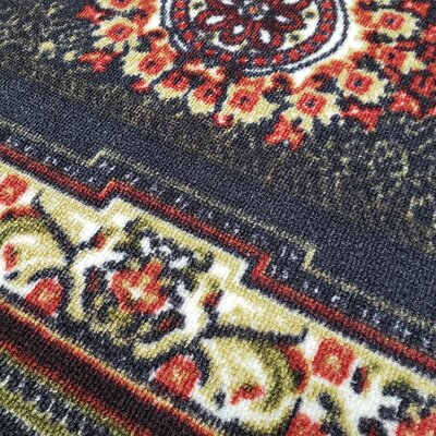 Deston Medallion Brown Area Rug Rug Size: Rectangle 82 x 910