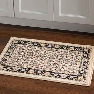 Northfields Yellow Area Rug Rug Size: Rectangle 2 x 3