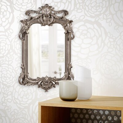 Antique Silver Leaf Accent Mirror