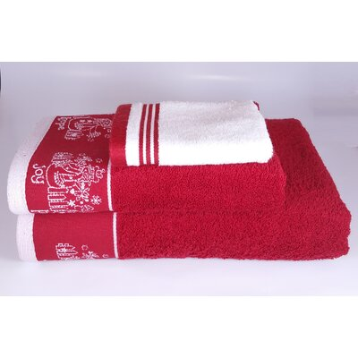 Joy Hope Peace 3 Piece Towel Set