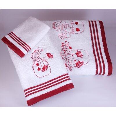 Snowman Family 3 Piece Towel Set