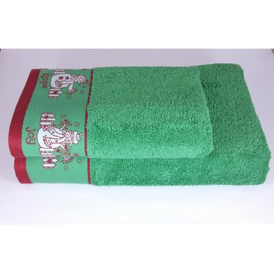 Joy Hope Peace 2 Piece Towel Set
