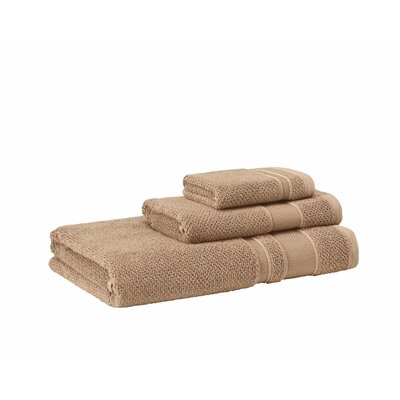 3 Piece Towel Set Color: Mustard