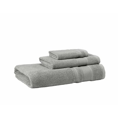 3 Piece Towel Set Color: Silver