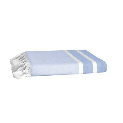 Pesthemal Fouta Bath Towel Color: Blue