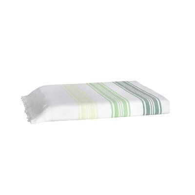 Pesthemal Fouta Bath Towel Color: Green