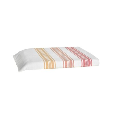 Pesthemal Fouta Bath Towel Color: Orange
