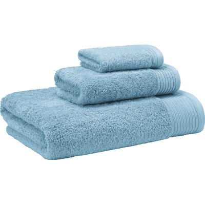 3 Piece Towel Set Color: Aqua