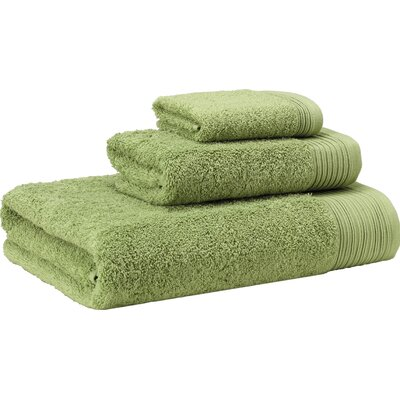 3 Piece Towel Set Color: Green