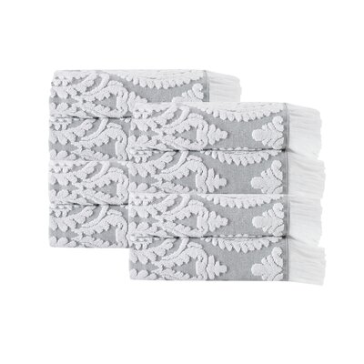 Laina Hand Towel Color: Silver