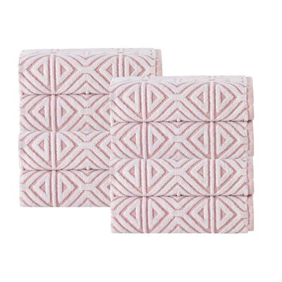 Glamour Hand Towel Color: Pink