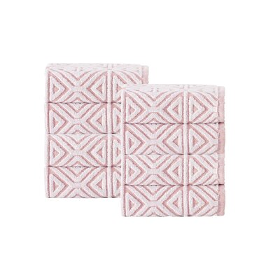 Glamour Wash Cloth Color: Pink