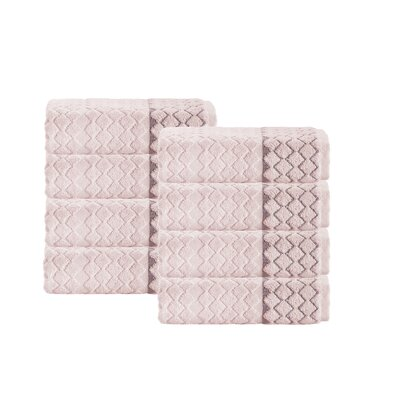 Isola Turkish Hand Towel Set Color: Peach