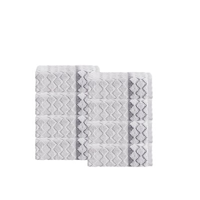 Isola Turkish Cotton Wash Cloth Color: Silver