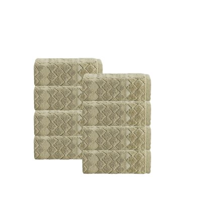 Isola Turkish Cotton Wash Cloth Color: Olive