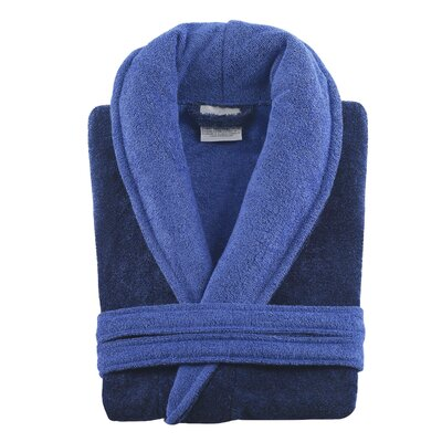 Rayon from Bamboo Bathrobe Color: Denim