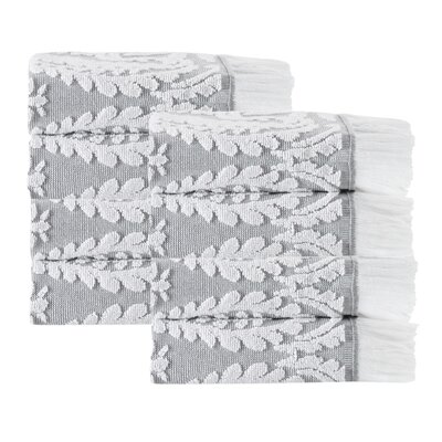 Laina 8 Piece Towel Set Color: Silver