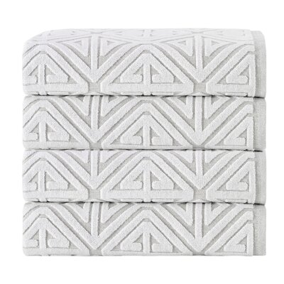 Glamour Cotton Towel Set Color: Beige