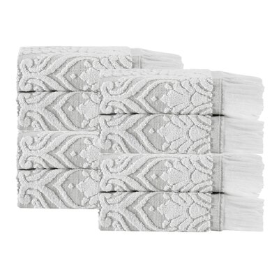 Laina 8 Piece Towel Set Color: Beige