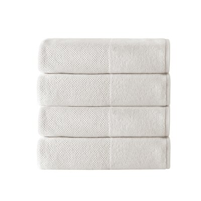 Incanto 100% Turkish Cotton Bath Towel Set Color: Cream