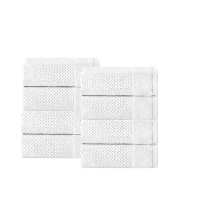 Incanto 100% Turkish Cotton Wash Cloth Set Color: White