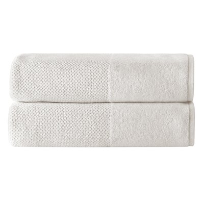 Incanto 100% Cotton Bath Sheet Set Color: Cream