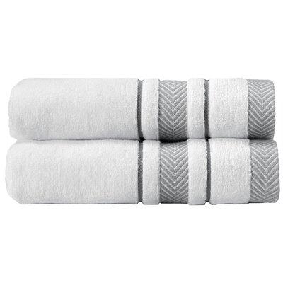 Enchasoft 100% Cotton Bath Sheet Set Color: White